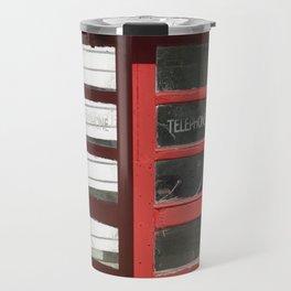 Old Telephone box Travel Mug