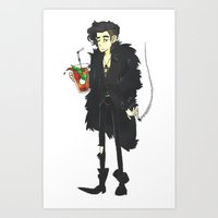 1975 Art Prints featuring 1975 Attitude by Atticus Morrow