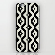 Modern bold print with diamond shapes iPhone & iPod Skin