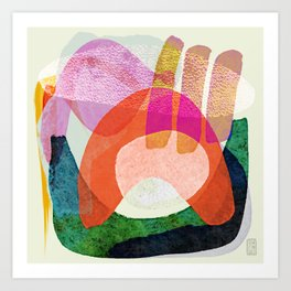 Bubblegum Factory Art Print
