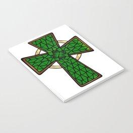 Shamrock Celtic Cross Notebook