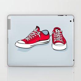Red Sneakers Laptop & iPad Skin