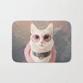 Fashion Portrait Cat Bath Mat