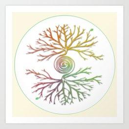 Tree of Life in Balance Art Print