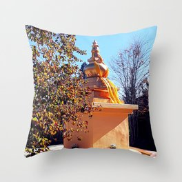 Golden State of Mind Throw Pillow