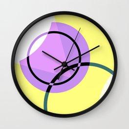 Circular Abstraction Wall Clock
