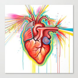 Party Heart Canvas Print