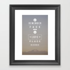 Atlas Hands Framed Art Print