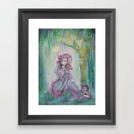 Cabbage Patch Framed Art Print