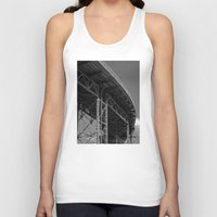 bridge Tank Tops featuring Bridge by Christophe Chiozzi