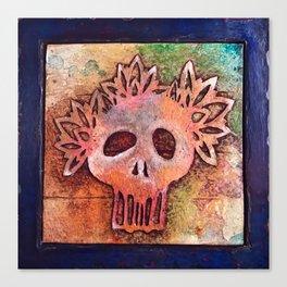 San Francisco Sugar Skull 3 Canvas Print