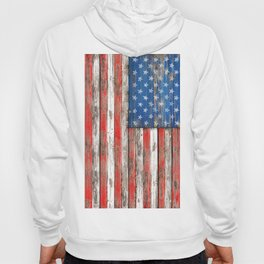 USA Vintage Wood Hoody