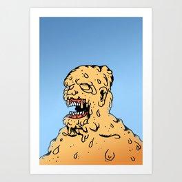 CLEAR THE AIR. Art Print