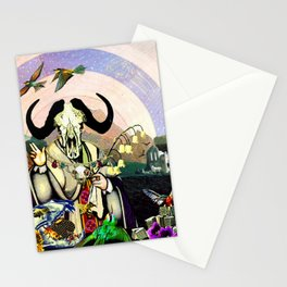 Bull Worship Stationery Cards