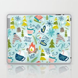 Snow Day Hooray! Laptop & iPad Skin