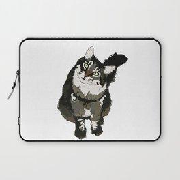 Cat Yellow Eyes Laptop Sleeve