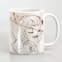 inspiration Mugs featuring Inspiration by StaceyPatinoArt