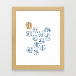 naamat Framed Art Print