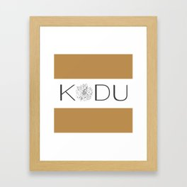 Kodu Logo Framed Art Print