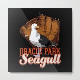San Francisco Seagull Metal Print