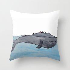 Whale Throw Pillow