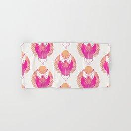 Egyptian Scarab – Pink Ombré Hand & Bath Towel