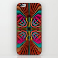 cyberpunk iPhone & iPod Skins featuring Tropica by Obvious Warrior