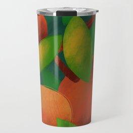 Tangerine Love Travel Mug