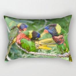 Parrots Rectangular Pillow