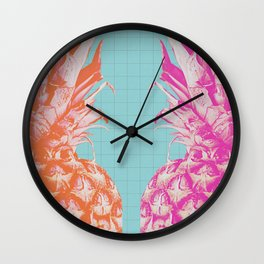 Double Pineapple's Candy Wall Clock