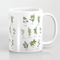 HERBS on white Mug