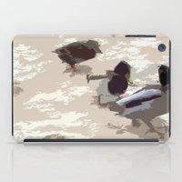 ducks iPad Cases featuring Ducks by Kimberley Shaw