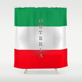 Italia Osteria Shower Curtain