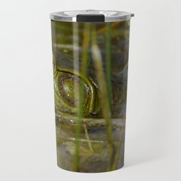 Frog in the Water Travel Mug