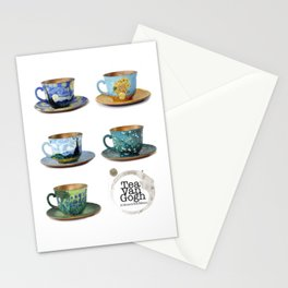 TeaVanGogh - Collection Stationery Cards