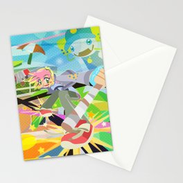 Sunset Overdrive Stationery Cards