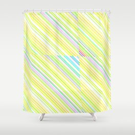 Re-Created Cross No. 14 by Robert S. Lee Shower Curtain