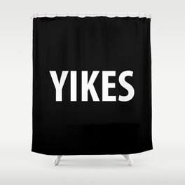 YIKES Shower Curtain