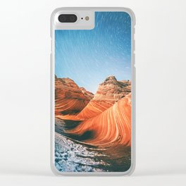 Desert Galaxy X Clear iPhone Case