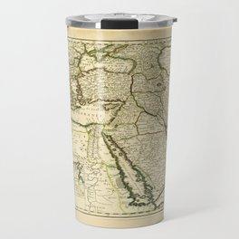 Map of the Ottoman Empire (1654) Travel Mug