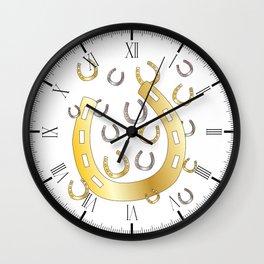 Horseshoe Wall Clock