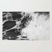 north carolina Area & Throw Rugs featuring Outer Banks, North Carolina by Patricia McNickle