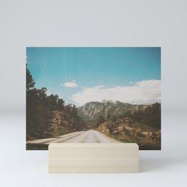 Colorado Roads Mini Art Print
