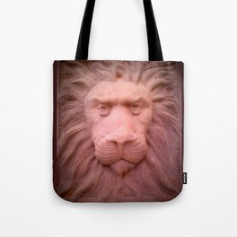 Lion clay Tote Bag