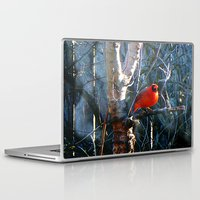 cardinal Laptop & iPad Skins featuring Cardinal by IcyBC