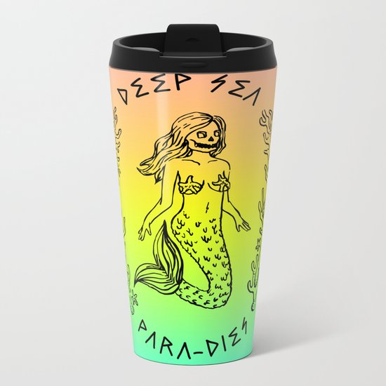DEEP SEA PARA[DIES] Metal Travel Mug