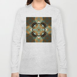 Abstract Design 92 - Browns Long Sleeve T-shirt