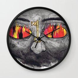 """The People's Key"" by Cap Blackard Wall Clock"