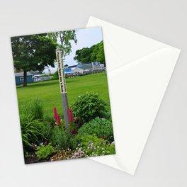 Puisse La Paix Regner Dans Le Monde- vertical Stationery Cards