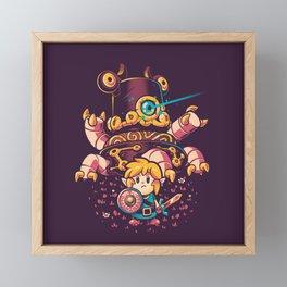Hero's Awakening Framed Mini Art Print